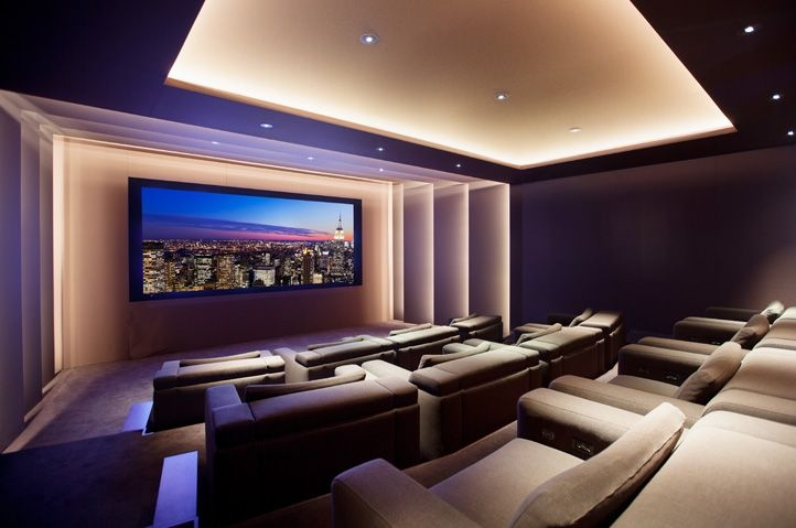 As melhores dicas para montar uma sala home theater em sua casa - Sala home theatre ...