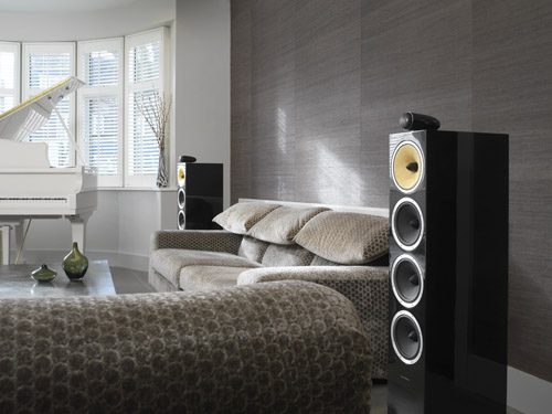 B&W Home Audio Sistema Home Theater Torre
