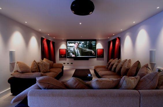Cinema Home Theater Projeto Sala Dedicada