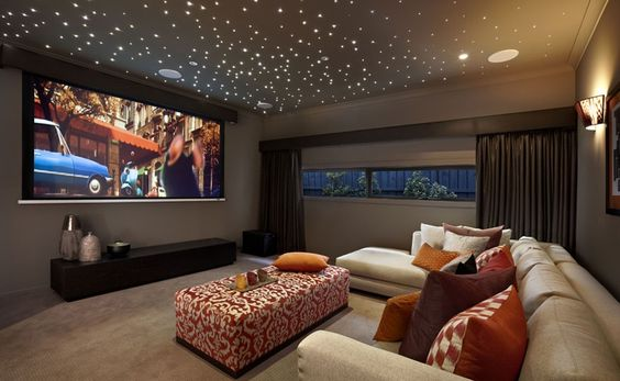 Modelo Home Theater Sala Cinema