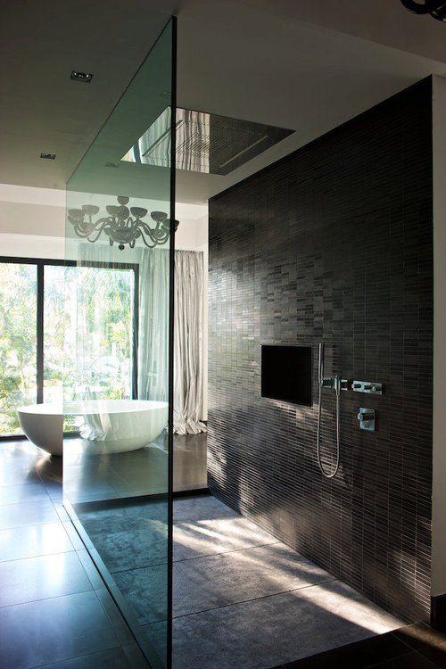 Chuveiros-Modernos-teto-iluminação