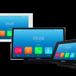 Modelo de controle casa automatizada touch screen