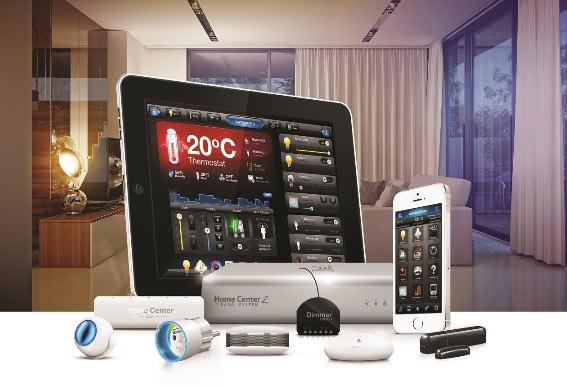 Sistema Fibaro casa inteligente
