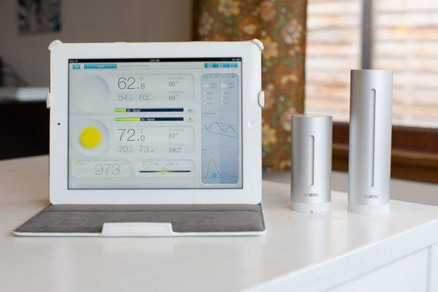 Sensor previsão do tempo casa inteligente