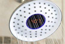 chuveiro com controle de temperatura digital