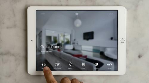 Savant smartphone app
