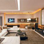 home theater integrado living room