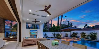 outdoor tv home piscina externa