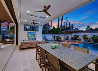 outdoor tv home piscina externa